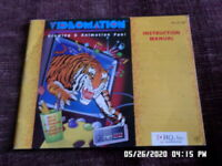 Videomation (NES Nintendo) Instruction Manual Only. NO GAME