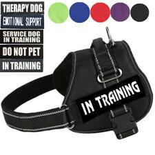 Reflective Emotional Support Dog Harness Vest Large Dog Animal Service Harnesses
