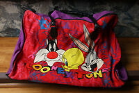 Vintage Looney Tunes Bag 1993 Holiday Fair Bugs Bunny, Sylvester, Tweety