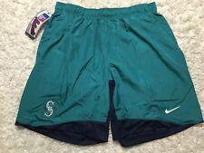 Nike Seattle Mariners Dri-Fit Team Issued Men's Size 2XL XXL Baseball Shorts NWT