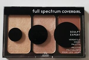 Covergirl Full Spectrum Sculpt Expert Versatile Cheek Palette Bronze Flame FS200