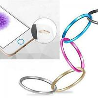 Circle Metal Protective Sticker Home Button Ring for Apple Iphone 5/5s/6/6plus