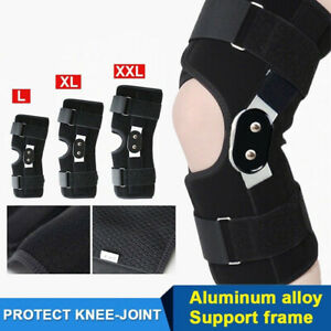 New Dual Hinged Knee Guard Arthritis Support Brace Strap Wrap Support Stabilizer
