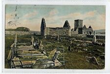(Sc109-100)  Iona Cathedral And Tombs Of The KIng,1900c,used,Vg