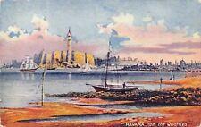 Havana Cuba~View From the Quarries~Artist View Postcard~1910