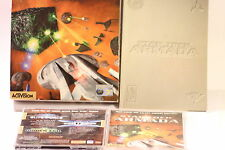 RARE Star Trek ARMADA PC GAME  CD-Rom Big Box Game WIN 95/98 BY ACTIVISION