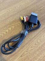 GENUINE MICROSOFT XBOX 360 S SLIM AV COMPOSITE LEAD CABLE X821376-001 IN VGWC