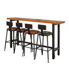 INDUSTRIAL RETRO RUSTIC VINTAGE IRON BAR STOOL KITCHEN COUNTER CHAIR 4 COLORS