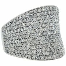 This Gorgeous Wide Ring All Throughout Gorgeous 5.77 Carat Cubic Zirconia Cover