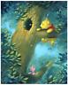 Disney Fine Art Limited Edition Canvas Curious Bear-Pooh- Rob Kaz