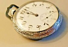 ANTIQUE 1919 HAMILTON / Size 16 / 21 Jewels / RAILROAD Approved POCKET WATCH.