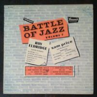 "BATTLE OF JAZZ vol 7 Rare 10"" LP 1953 Brunswick Records ROY ELDRIDGE Orchestra+S"