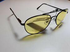 EYELEVEL Night Driving Glasses Black Frame Yellow Lens 100% UV