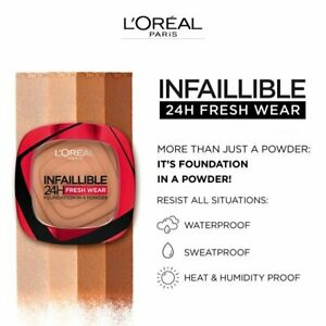 L'Oreal Infallible 24H Freshwear Face Powder - Choose Your Shade