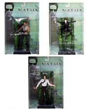 """Cult Sci Fi Film Movie THE MATRIX 6"""" toy action figure set of 3. NICE!"""