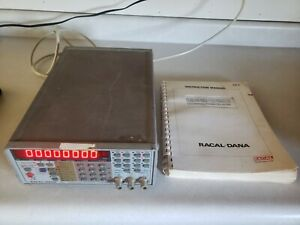 Racal-Dana 1992 nanosecond Universal timer Counter with instruction manual