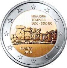 2 Euro Gedenkmünze Malta 2018 - Tempel von Mnajdra
