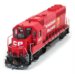 Athearn Genesis HO EMD GP40-2 Canadian Pacific CP #4651 DC LED ATHG65067