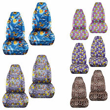 tropical fish/giraffe/snoopy front car seat covers 2009-2015 Suzuki Alto airbags