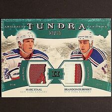 BRANDON DUBINSKY / MARC STAAL /50 2011/12 Artifacts Tundra Tandems #TT2DS Patch