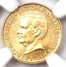 1916 McKinley Commemorative Gold Dollar Coin G$1 - Certified NGC MS62 (UNC BU)