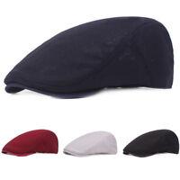 Unisex Men Women Mesh Driving Golf Cap Adjustable Hollow Casual Beret Hat NEW