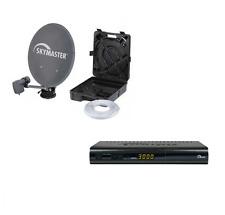 SKYMASTER Camping Sat Anlage DCHD 95 HDTV SAT-Receiver CI Slot USB PVR 15m Kabel