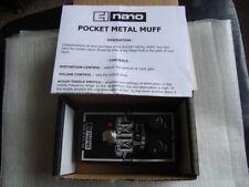 EHX Electro-Harmonix nano pocket metal muff