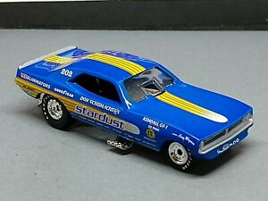 '70 NHRA FUNNY CAR DON SCHUMACHER STARDUST LIMITED EDITION COLLECTIBLE 1/64 F/C
