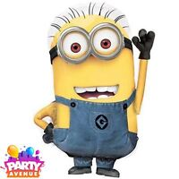 Despicable Me Minions SuperShape Foil Balloon Phil Birthday Party Decorations