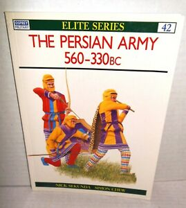 BOOK Osprey Elite # 42 Persian Army 560-330 BC 1st Ed op 1992  Reading Copy