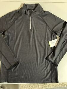 Old Navy Active Black Grey Pullover Boys Size M (8) NWT