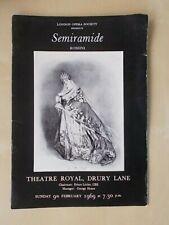 More details for theatre royal drury lane - opera 1969 - signed joan sutherland & marilyn horne