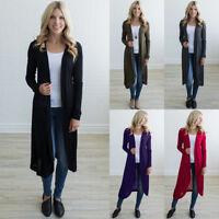 Fashion Women Sweater Long Sleeve Knit Cardigan Tops Casual Jacket Coat Outwear