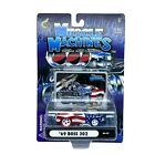 Muscle Machines 1969 69 Ford Mustang Boss 302 Car Blown Stars & Stripes 1/64