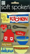 In The Kitchen - Soft Spoken Stickers - Me & My Big Ideas