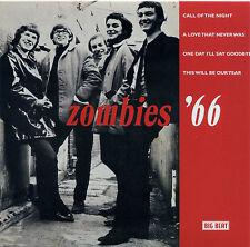 """Zombies """"llamada de la noche + un amor que nunca fue + 2 más"""" EP años 60 eliminado"""