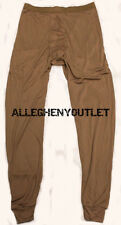 US Military SILK WEIGHT THERMAL UNDERWEAR LWCWUS  PANTS Light Weight SMALL NEW