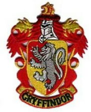 Harry Potter Gryffindor Costume Embroidered Iron Patches