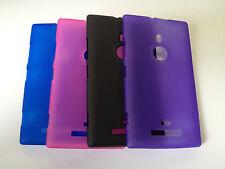 TPU Gel Soft Jelly Case Phone Cover For Nokia lumia 925