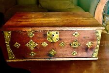Rare 1860 Glo (General Land Office) Wood Land Surveyor's Desk Historical Relic