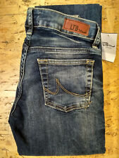 LTB -- Slim Straight -- Aspen -- Blue Lapis Wash -- Regular Rise -- Jeans Damen