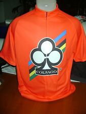 ITALIA BIKE JERSEY COLNAGO BIKES ITALIAN SHIRT SIZE XL COOL ITALY RED MASH NR
