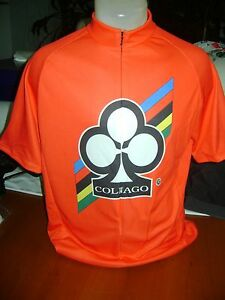 ITALIA BIKE JERSEY COLNAGO BIKES ITALIAN SHIRT SIZE M COOL ITALY RED MASH NR