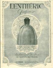 Publicité ancienne parfum Lenthéric 1925 issue de magazine