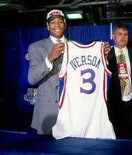 Allen Iverson 8x10 Photo Print NBA Sixers Rookie Image