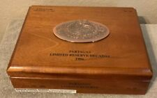 PARTAGAS LIMITED RESERVE 1996 Cigar Box Beautiful Excellent Condition