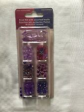 Bead Kit with Assorted Plastic Beads.