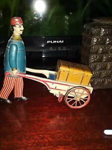 Lehmann, Strauss Marke Stock antique tin toy