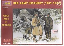 ICM WWII Red Army Infantry (1939-1942), 3 Figures 1/35 051